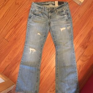 American eagle size 0s women's boyfriend jeans